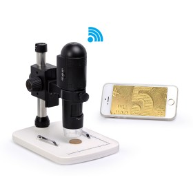Цифровий USB мікроскоп SIGETA Guru WiFi 10-200x 720P HD for iOS/Android/Windows