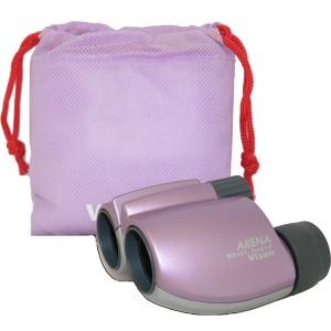 Бинокль VIXEN ARENA 8x21 CF (розовый)