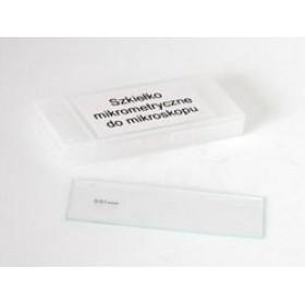 Предметное стекло Delta Optical с микрометрической сеткой 0,1мм