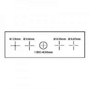 Калибровочная линейка X&Y 1мм/100 Div.x0.01мм