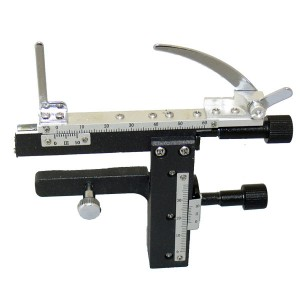 Координатный нониус к микроскопу