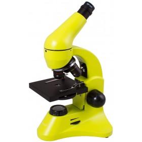 Микроскоп Levenhuk Rainbow 50L PLUS Лайм