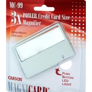 Увеличительное стекло Carson MagniCard MC-99