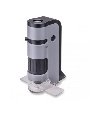 Микроскоп Carson MicroFlip™100-250x с адаптером для смартфона