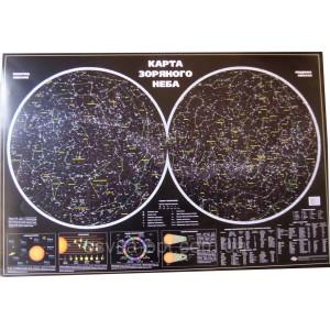 Карта звездного неба YV-2010