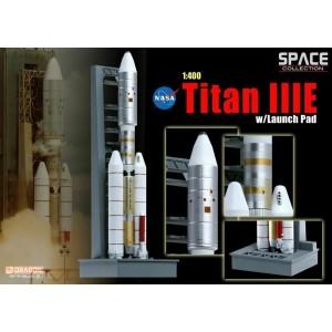 """Американская ракета-носитель """"Титан IIIE"""" на стартовой платформе"""