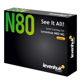 Набор микропрепаратов Levenhuk N80 NG «Увидеть все!»