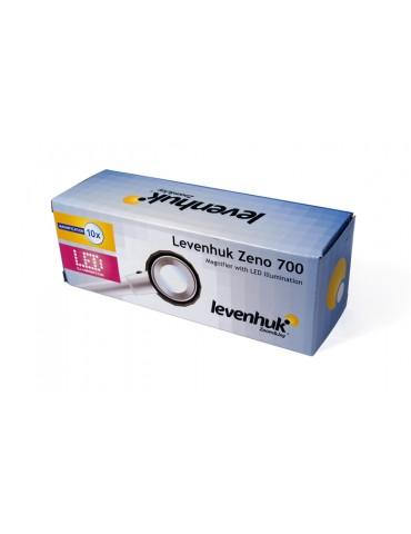 Лупа Levenhuk Zeno 700, 10x, 30 мм, 3 LED, металл